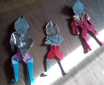 〜ウルトラマン折り紙〜